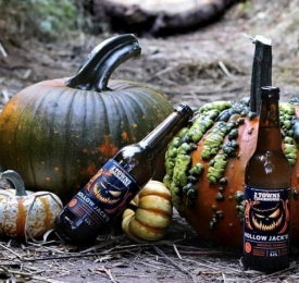Beer and pumpkins