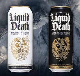 Liquid Death Cans