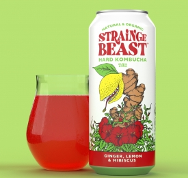 Stainge Beast Can and Glass