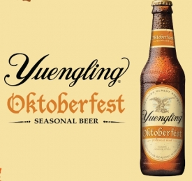 Yuengling Logo with Bottle