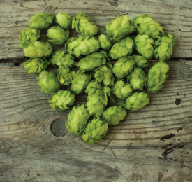 Heart shaped hops